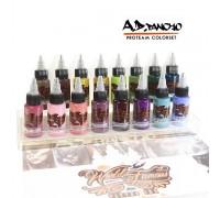 World Famous Ink - A.D. Pancho ProTeam Colorset - 16x30ml